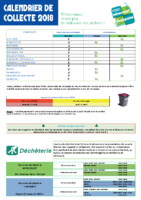 Calendrier2018 secteur Charmes