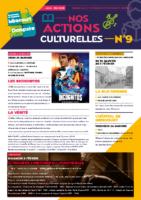 Programme de nos actions culturelle Janv-mai 2020