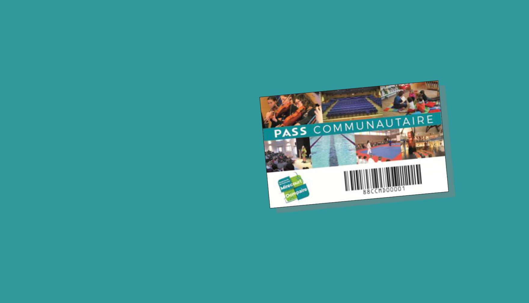 NOUVEAU : Des tarifs préférentiels avec le pass communautaire !
